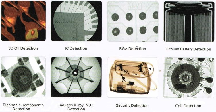 X-ray inspection images